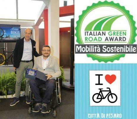 ITALIAN GREEN ROAD AWARD CITTA DI PESARO MOBILITà SOSTENIBILE 2