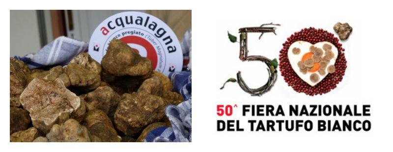la 50esima edizione della Festa Nazionale del Tartufo di Acqualagna (PU)