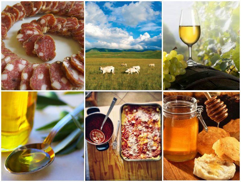 Specialità gastronomiche della zona di Frasassi