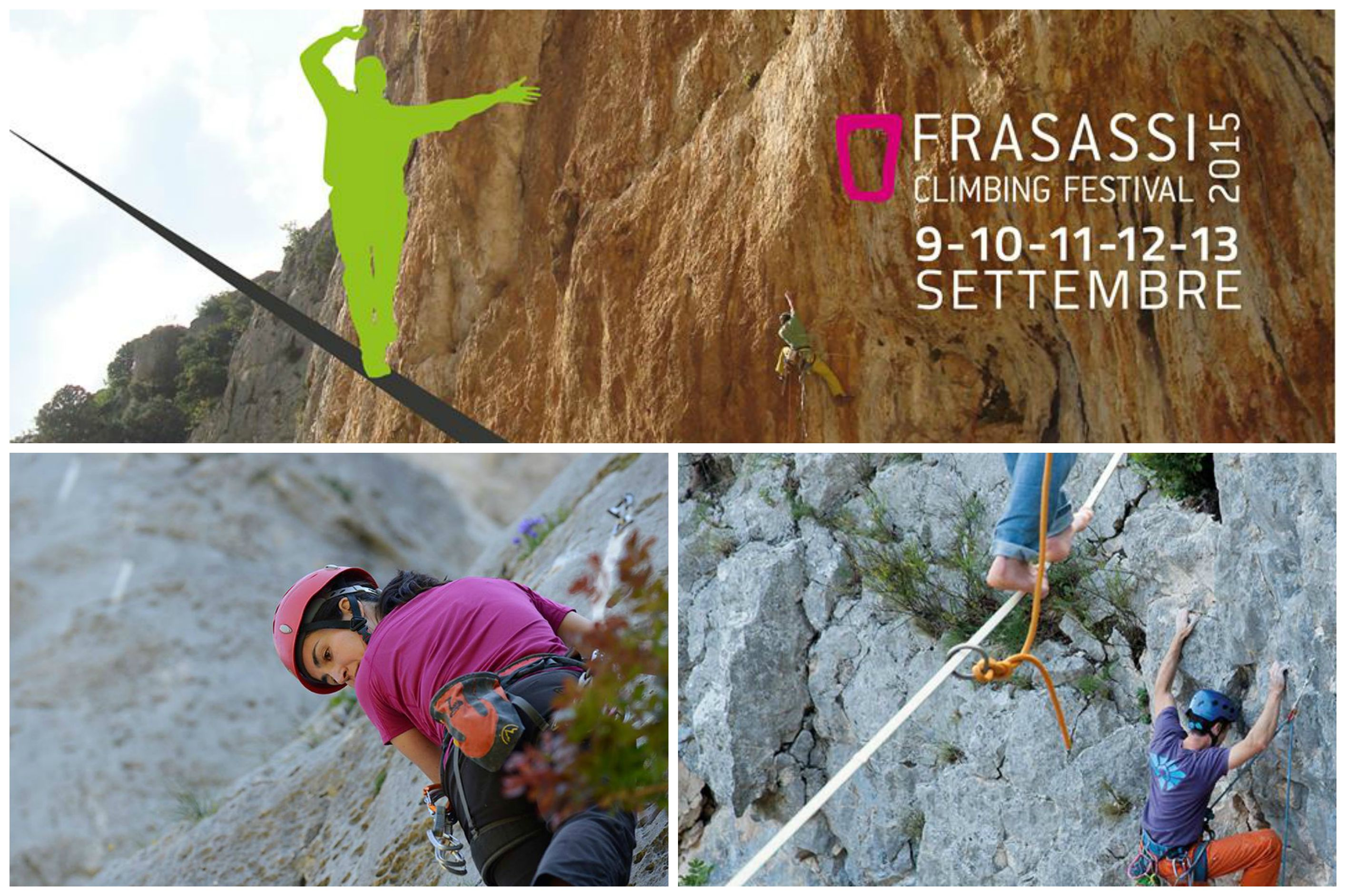 Frasassi Climbing Festival nel Parco Regionale della Gola della Rossa e Frasassi  (AN)
