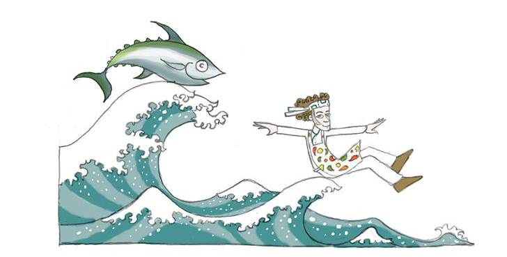 Una vignetta ispirata a Moreno Cedroni