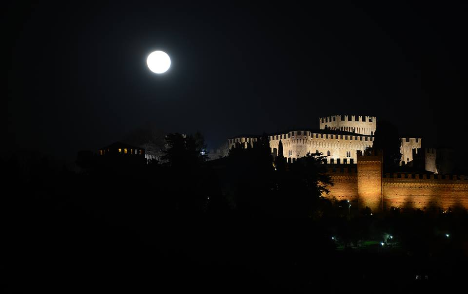 Gradara di notte  © Proloco Gradara