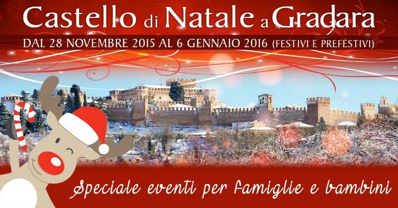 Il castello di Natale a Gradara