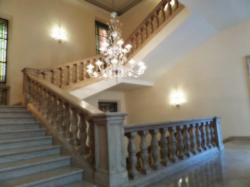 L'interno di Palazzo Bisaccioni a Jesi