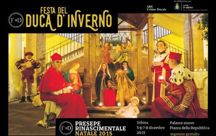 Il presepe rinascimentale vivente animerà la quarta edizione della festa del Duca d'inverno ad Urbino