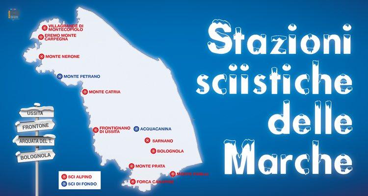 Le stazioni sciistiche nelle Marche
