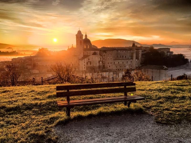 Visuale di Urbino dalla Fortezza Albornoz