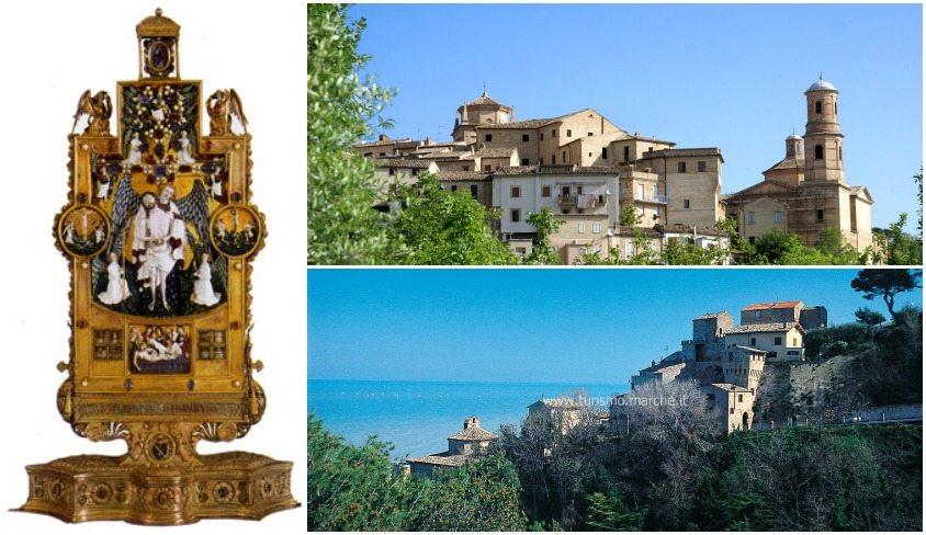 Il reliquiario di Sisto V, Grottammare e Montalto