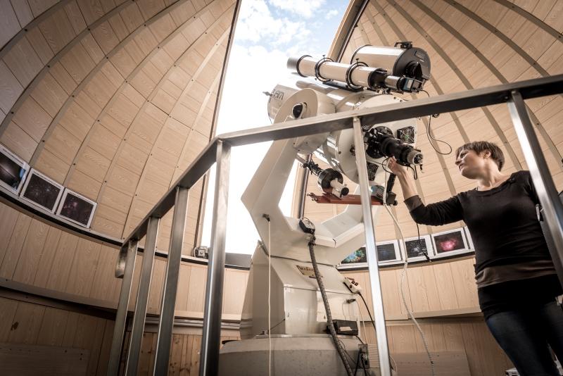 L'interno del Planetario al Museo del Balì