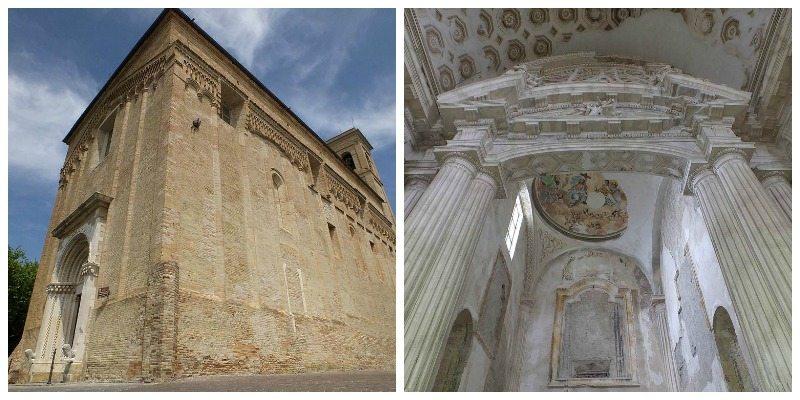 Chiesa di San Francesco a Montegiorgio (FM) © I Luoghi del Silenzio