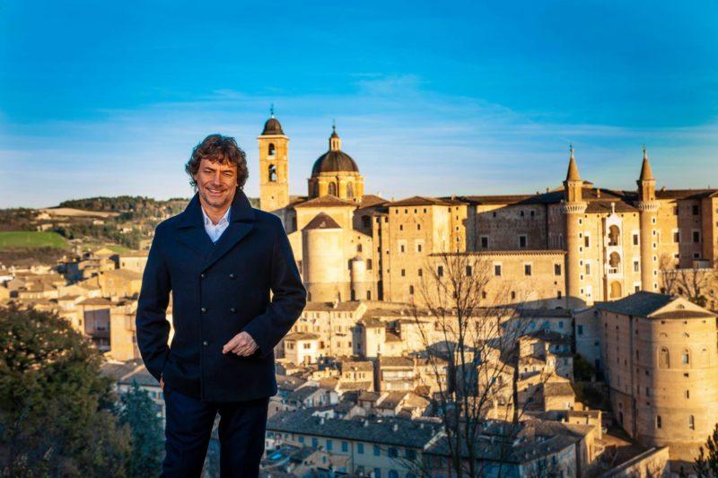 Urbino nel corso del programma Meraviglie, La Penisola dei Tesori condotto da Alberto Angela