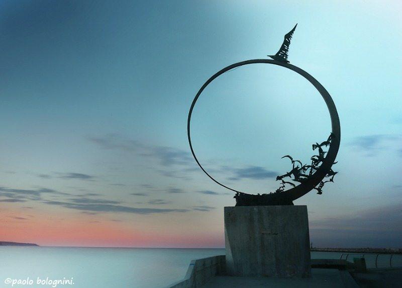 Monumento al Gabbiano Jonathan, San Benedetto del Tronto (AP)  © Paolo Bolognini