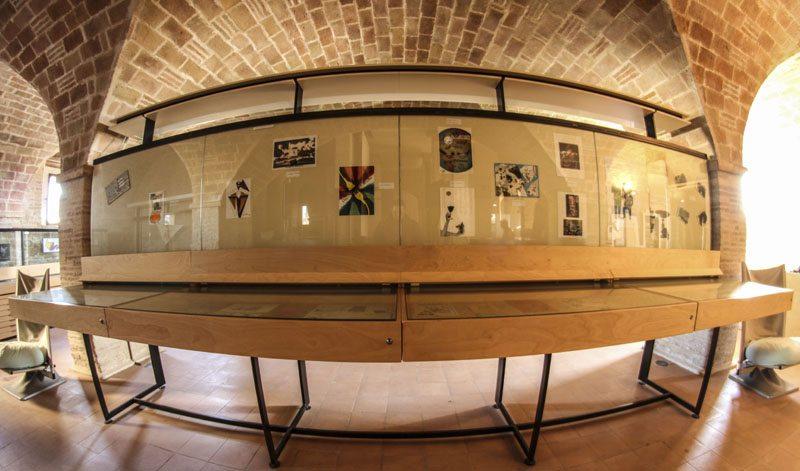 Museo Civico e della Mail Art, Montecarotto © Comune di Montecarotto