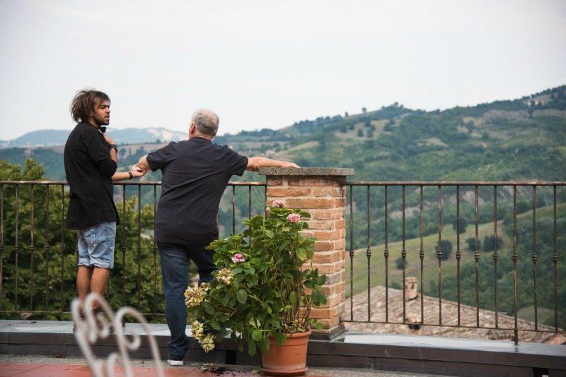 """Scena del film """"Come saltano i pesci"""". Foto Lorenzo Faggiolati"""