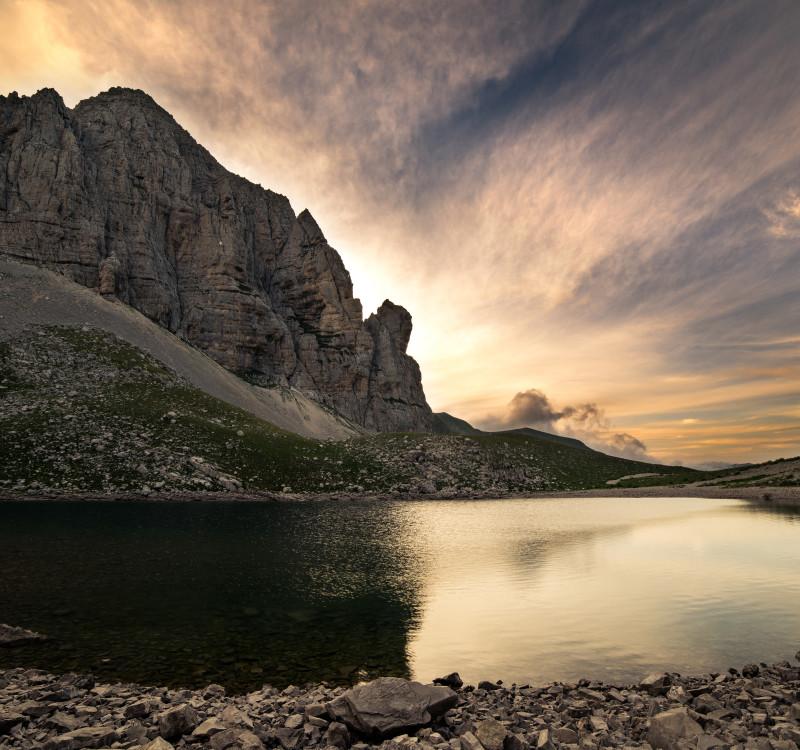 Il lago di Pilato - laghi nelle Marche