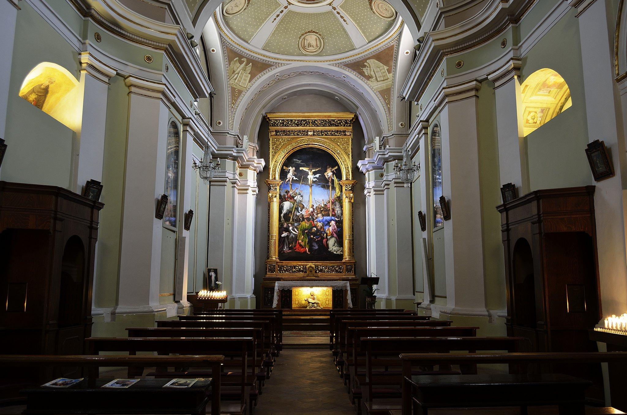 chiesa di S. Maria in Telusiano , Monte S. Giusto