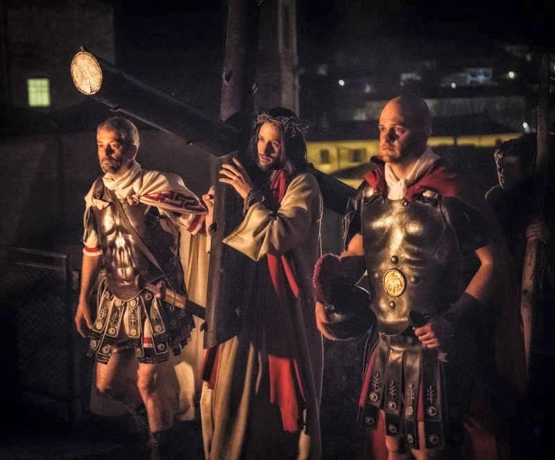 La Turba, Gesù e i due Centurioni © Toni Matteacci