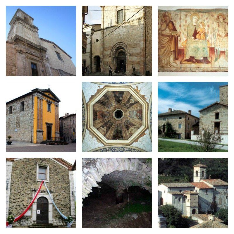 Le Chiese di Cantiano e le opere d'arte custodite all'interno © Comune di Cantiano