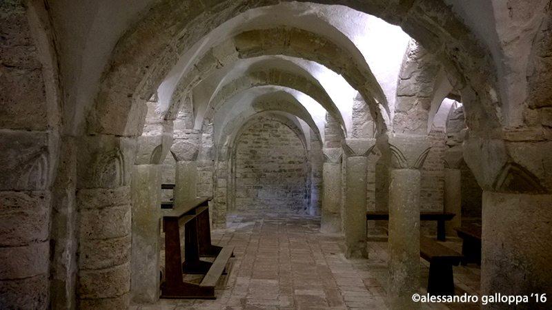 cripta dell'Abbazia di San Ruffino
