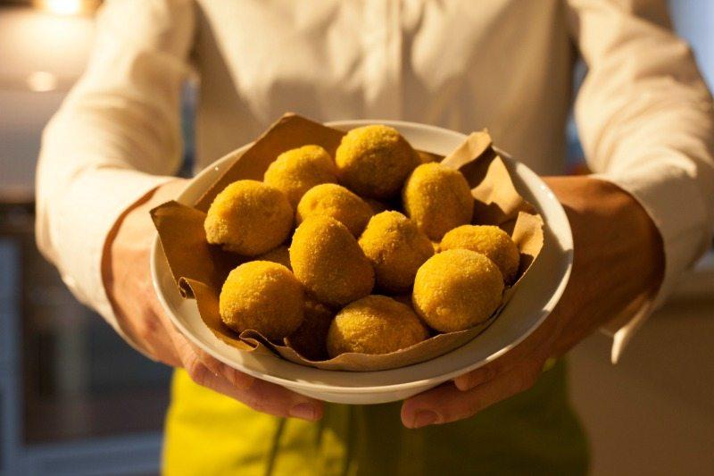 Olive ascolane. Foto Turismo Marche