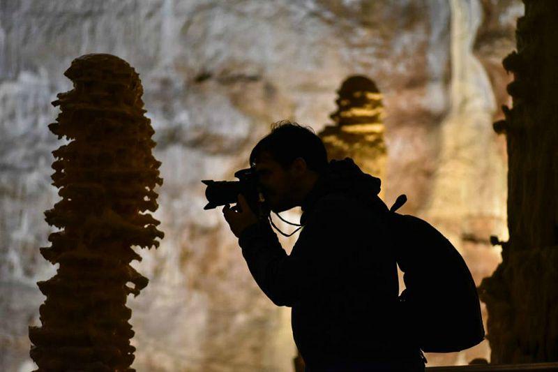 Grotte di Frasassi. Foto di Wissam Ahmad