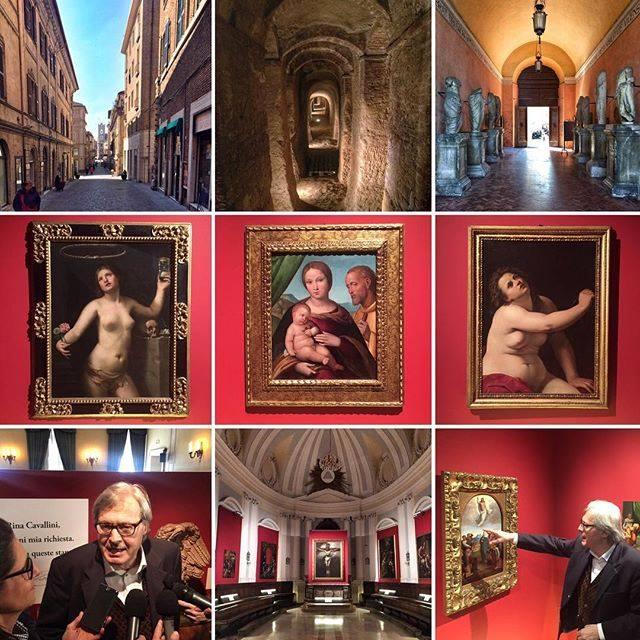 Osimo e la mostra  della collezione Cavallini-Sgarbi a Palazzo Campana