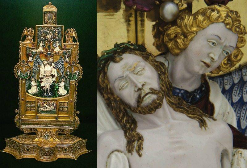 Reliquiario di Sisto V a Montalto delle Marche © Foto Turismo Marche