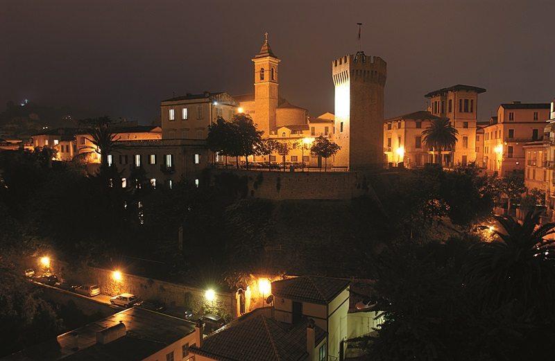Una veduta del centro di San Benedetto del Tronto