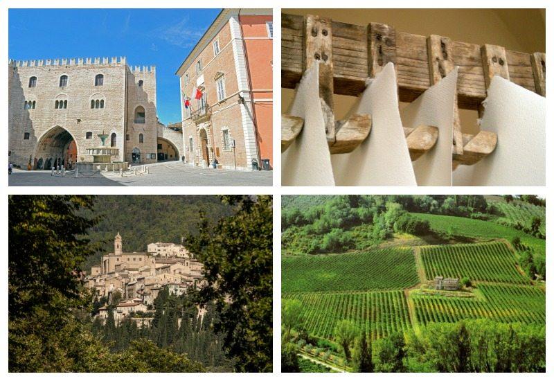 Fabriano e il Museo della Carta e della Filigrana, Serra San Quirico e i vigneti dei Colli Esini