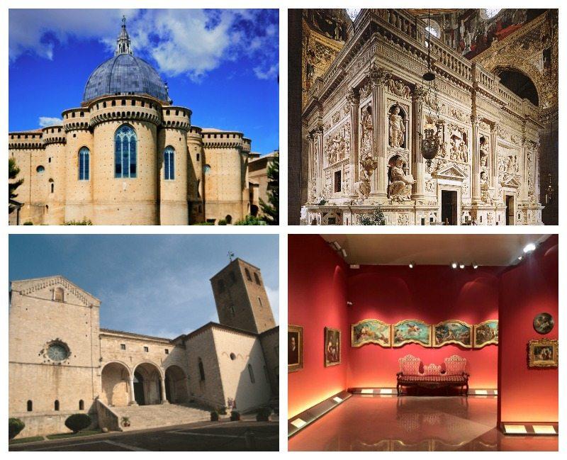 """La Basilica e la Santa Casa di Loreto. Il Duomo di Osimo e la mostra """"Le stanze segrete di Vittorio Sgarbi"""""""