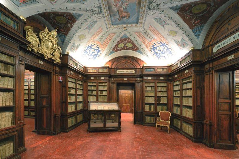 La Biblioteca comunale di Macerata, sale antiche