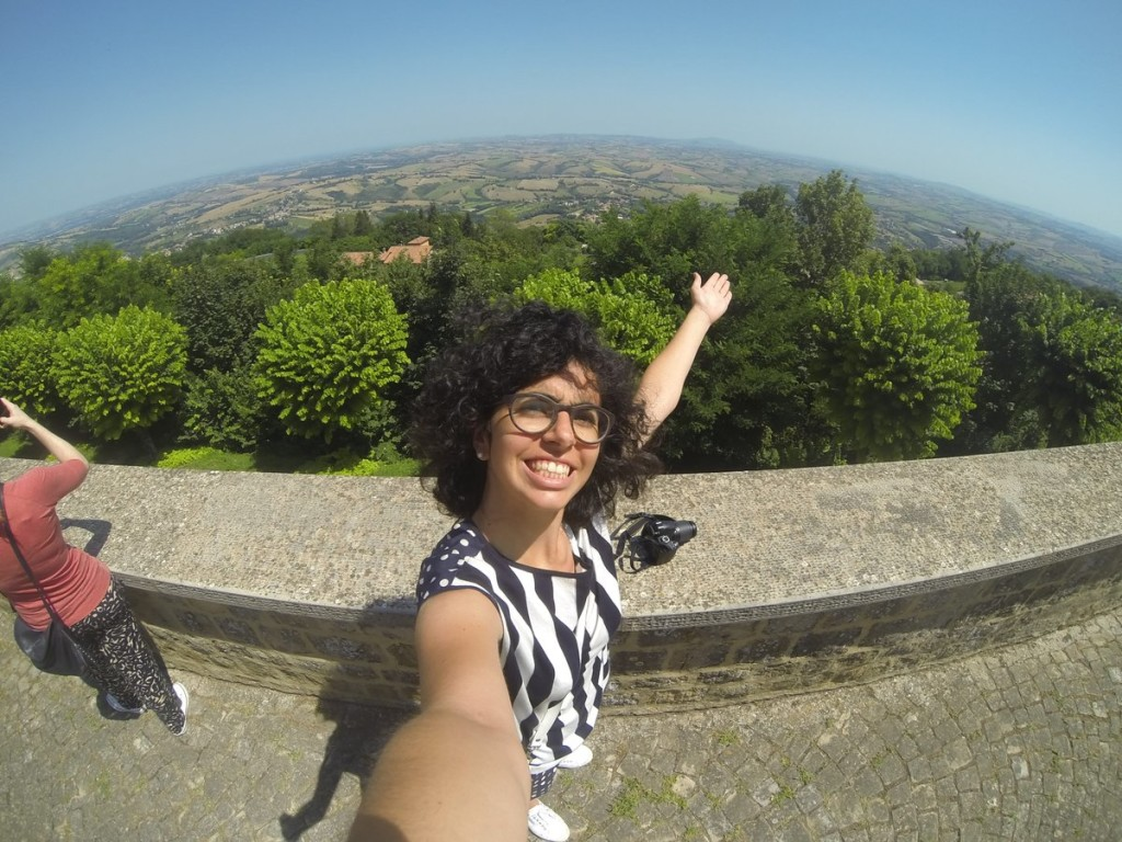 "Miglior ""selfie panoramico"": Chiara Pacetti"