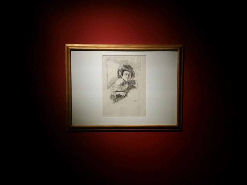 Caravaggio alla Pinacoteca di Ancona: Lo schizzo di Roberto Longhi