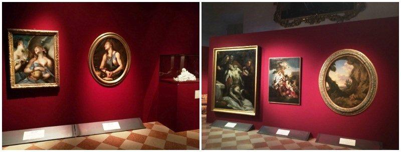 """Le sale espositive della mostra """"La Maddalena tra peccato e penitenza"""", Loreto"""