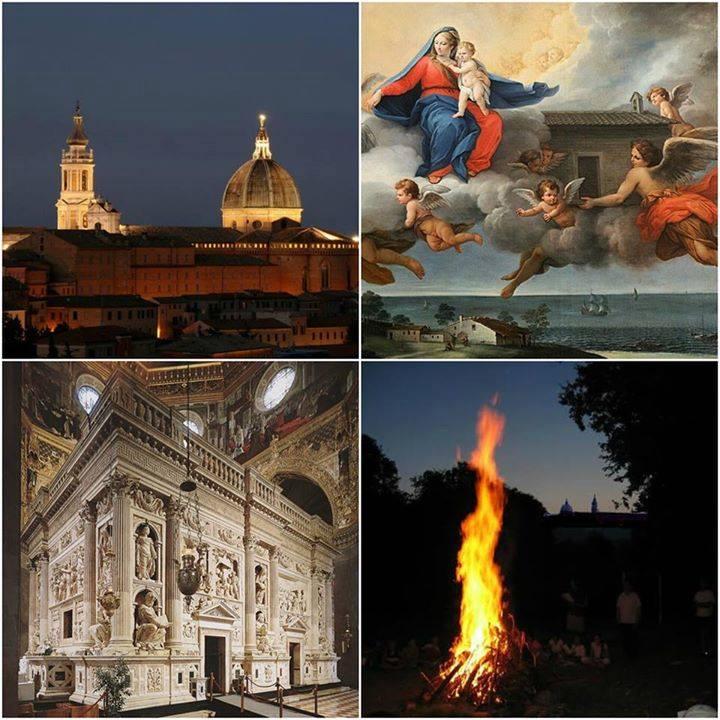 I fuochi della venuta a Loreto