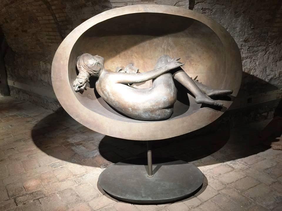 "Giacomo Manzù ""Tebe distesa nell'ovale"""