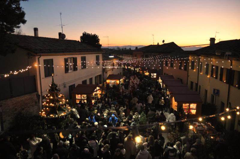Mercatino natalizio Candele a Candelara