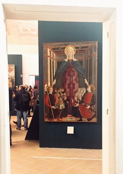 L'opera di Girolamo di Giovanni, Madonna della Misericordia esposta alla mostra di Senigallia