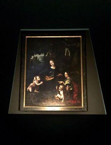 Leonardo da Vinci, La Vergine delle rocce, 1495-1497 circa