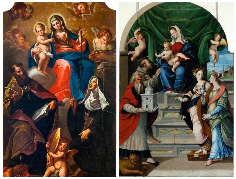 L'opera di Vincenzo Pagani e quella di Filippo Ricci