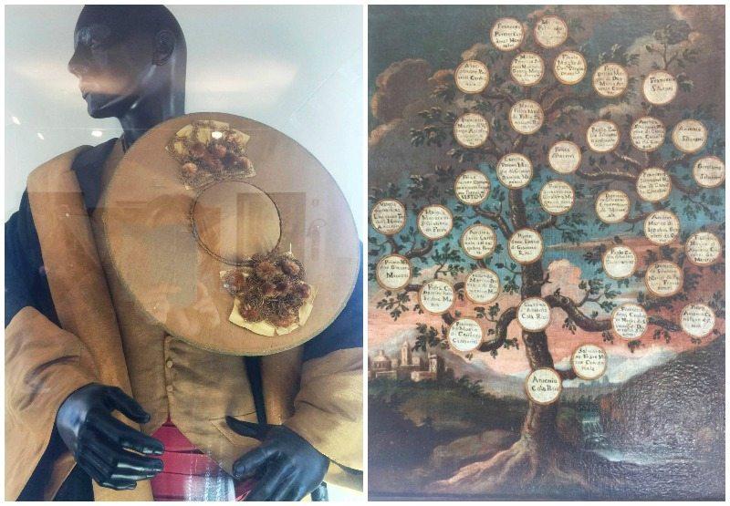 """L' abito del magistrato e l'albero genealogico di Sisto V, opere provenienti dal Polo Museale """"città di Sisto V"""""""