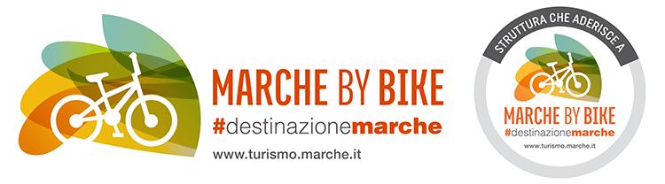 Il logo del disicplinare Marche by Bike