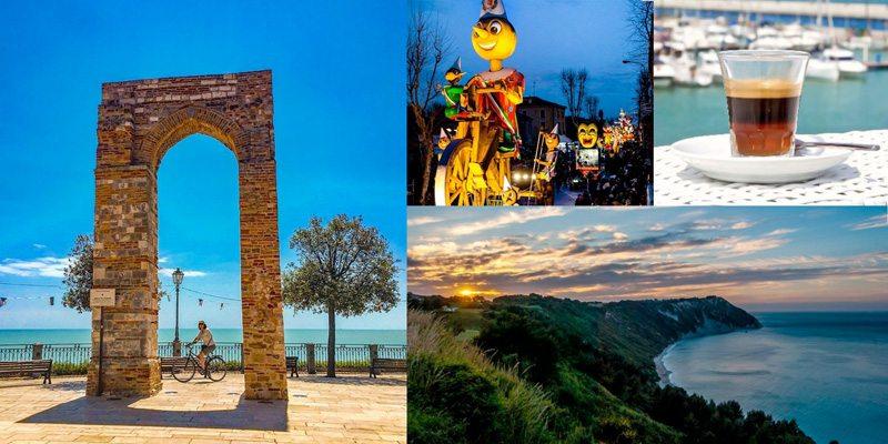 Numana, Carnevale di Fano, la Moretta, Portonovo, Riviera del Conero