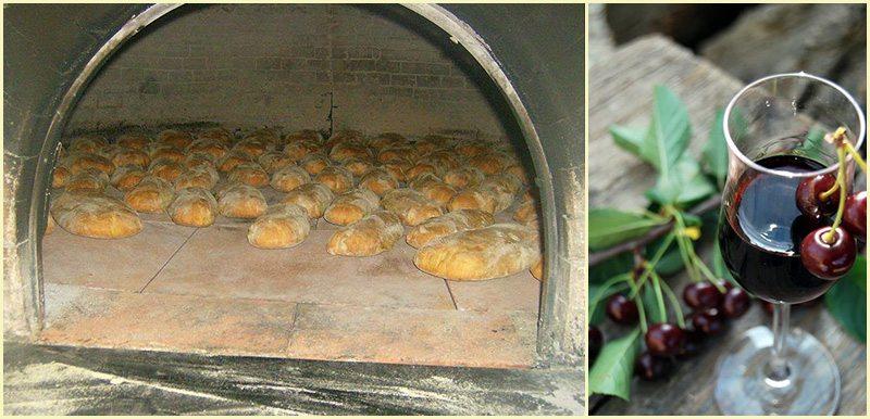 Il Pane di Cantiano e la Visciola (Foto Marche Tourism by Facebook)