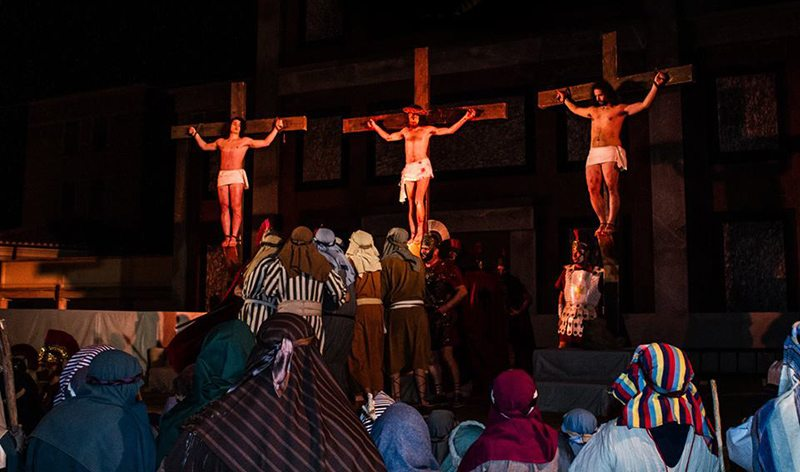 La Passione del Cristo Morto di Mogliano, edizione 2016 (Foto © www.laprocessione.mogliano.org)