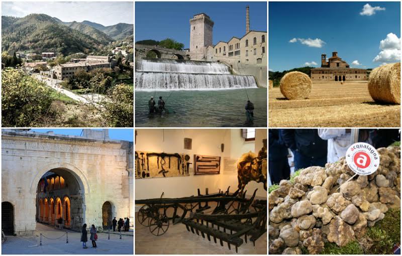 L'itinerario dei camperisti nella provincia di Pesaro Urbino