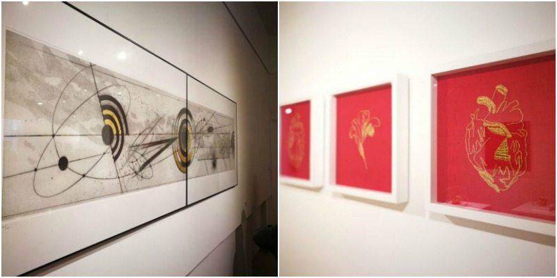 Le opere di Walter Valentini e Giovanni Gaggia