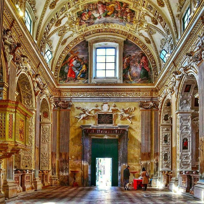 Chiesa barocca di san Pietro in Valle di Roberta Pascucci (da Instagram)