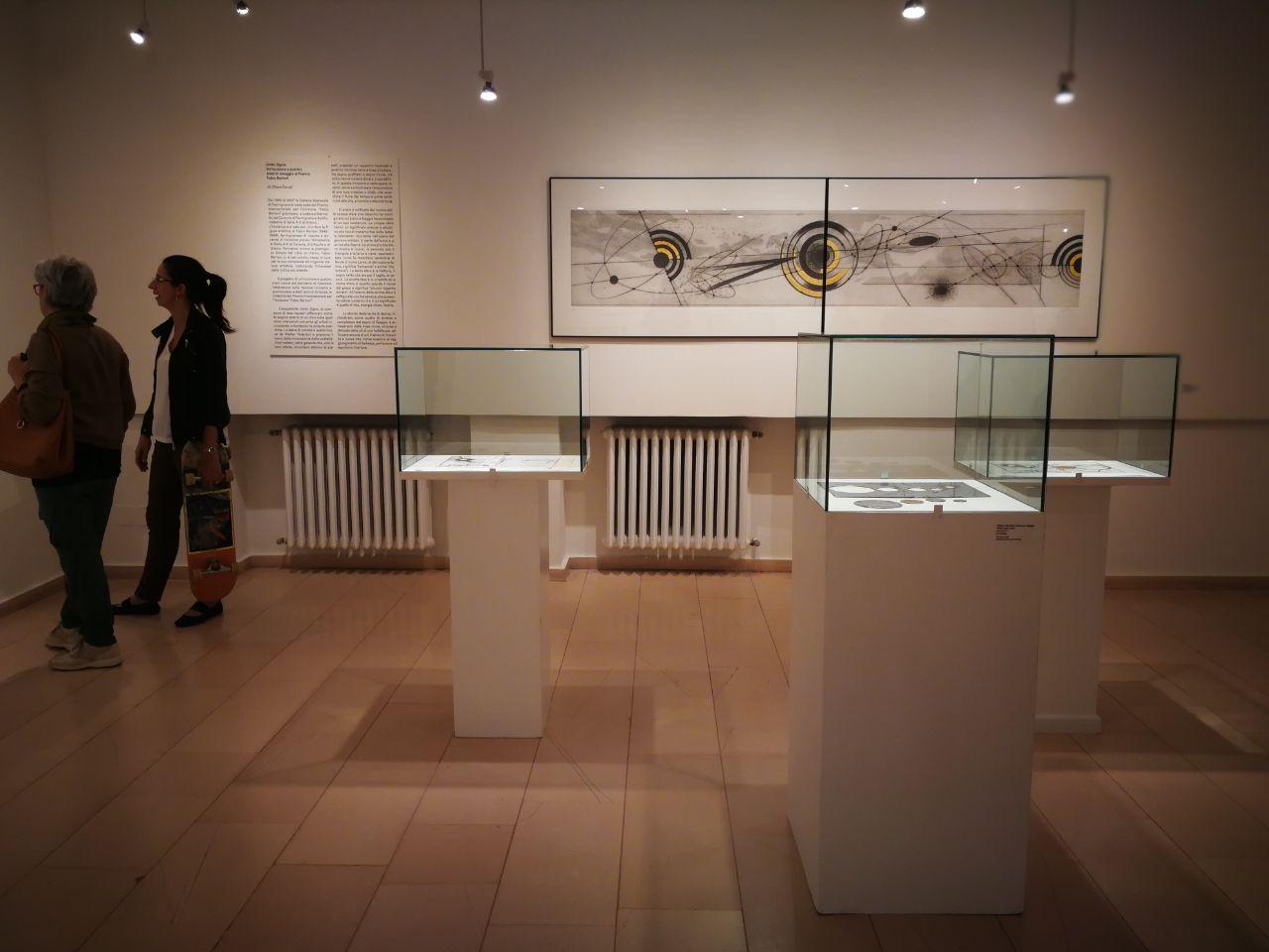"""La mostra """"Del filo e del segno"""" a Fermignano"""