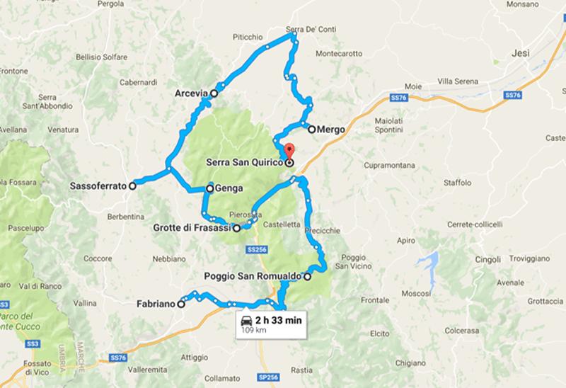 L'itinerario